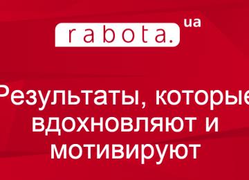Результаты rabota.ua 2014