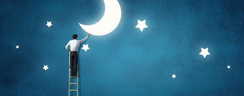 Целься в Луну: 5 шагов к мечте в новом году